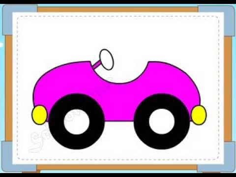 BÉ HỌA SĨ - Thực hành tập vẽ 229: Vẽ ô tô