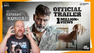 Kadaram Kondan Trailer | Vikram | Kamal Hassan | REACTION