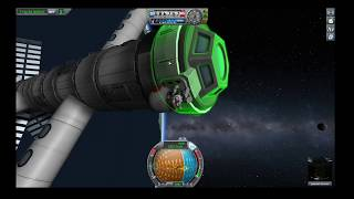 How to Build a Gravity Ring Space Station in KSP Breaking Ground
