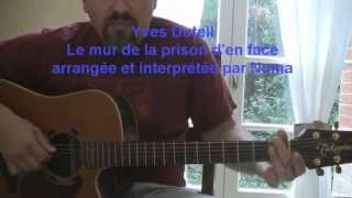 Guitare: reprise de  Le mur de la prison d