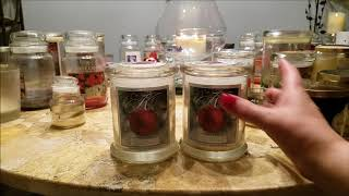 Candle Empties December 2017