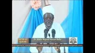 Tafsir Ul Qur'an on Suratul Shu'ara episode 4  by Prof  Abdul Majeed Ahsan Bello