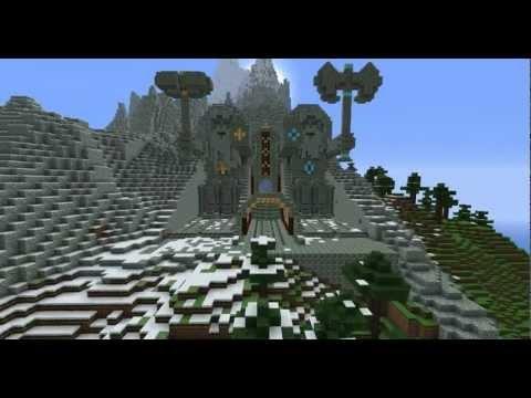 Minecraft: Epic Dwarven City Entrance