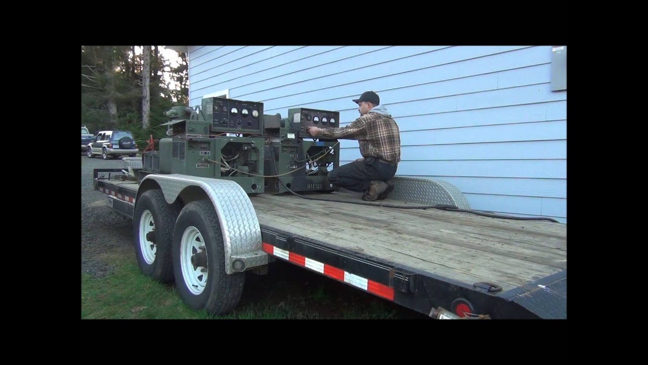 How To Operate Two Generators In Parallel Youtube Generator Wiring Diagram Further Circuit Breaker Box