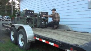 How to operate two generators in parallel