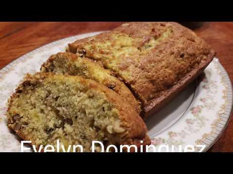 Piña Colada Zucchini Bread