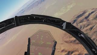 2 Hornets and 2 Eagles Enter, One Crappy Pilot Survives. [VR] (DCS World Hornet)