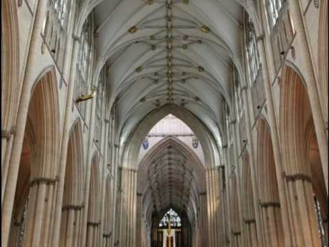 """York - Protestant Cathedral: """"Psalm VIII"""" - Anglican Choir"""