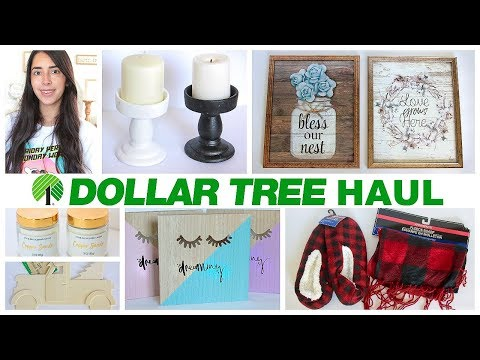 DOLLAR TREE HAUL SEPTEMBER 2019 | BUFFALO CHECK | CANDLE STANDS