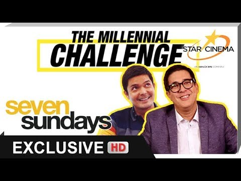 The Millennial Challenge with Dingdong Dantes and Aga Muhlach - 동영상