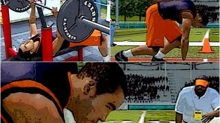 Madden NFL 13 Connected Careers CCM: Barry Sanders Jr. Excelling at NFL Combine ft Authentic973