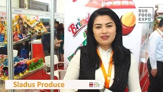 ''Sladus Produce'' на выставке ''WorldFood Uzbekistan 2017'', 29-31 марта 2017