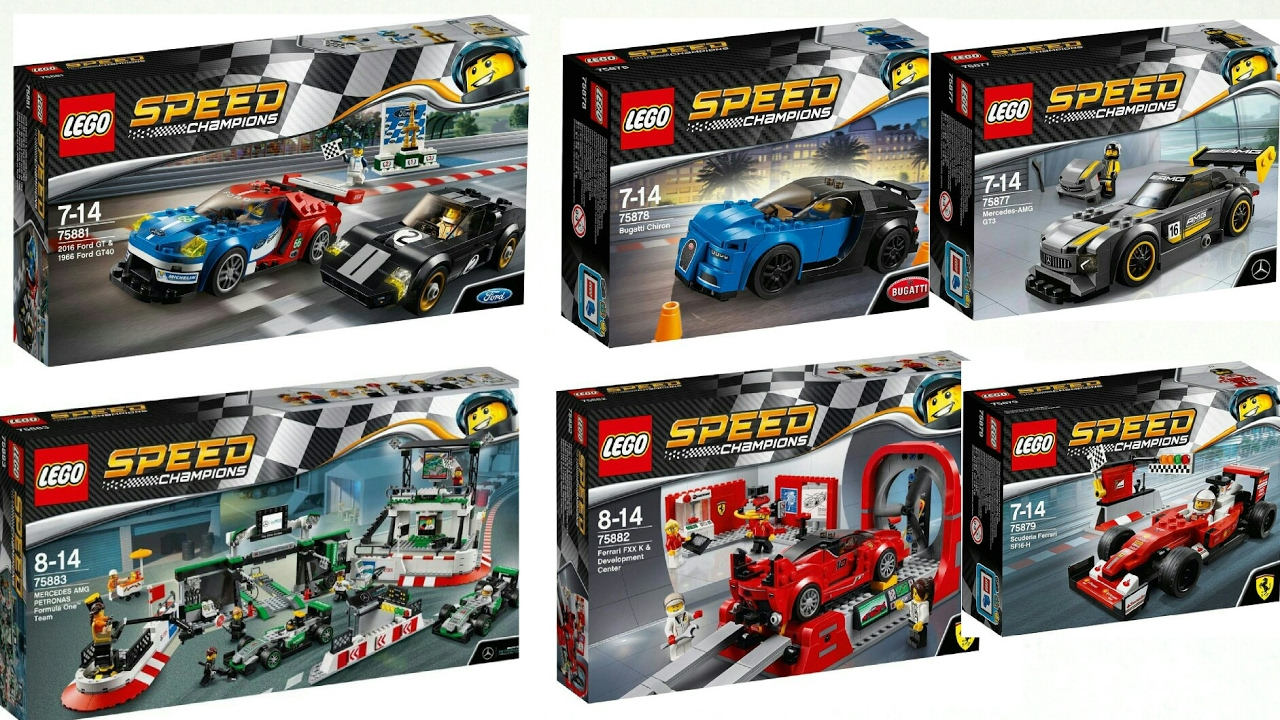 2017 lego speed champions spring summer sets official pictures new youtube. Black Bedroom Furniture Sets. Home Design Ideas
