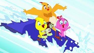 Eena Meena Deeka | Snowboarding | Funny Cartoon Compilation | Cartoons for Children
