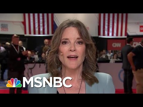 Marianne Williamson Apologizes For Calling Depression 'A Scam'   The Beat With Ari Melber   MSNBC