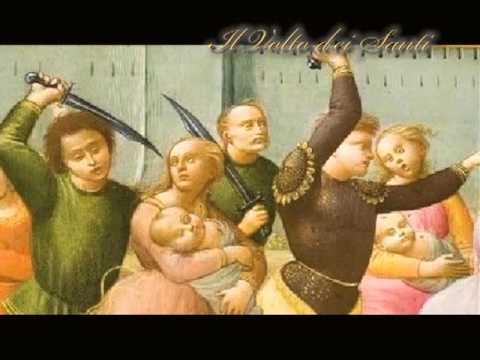 Il Santo Del Giorno 28 Dicembre Santi Innocenti Youtube