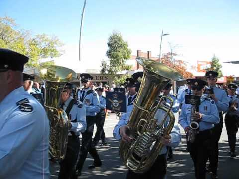 RAAF East Sale Victoria, Freedom of City parade Friday April 08, 2016.