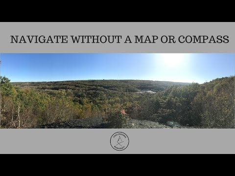 Navigation without a compass or map