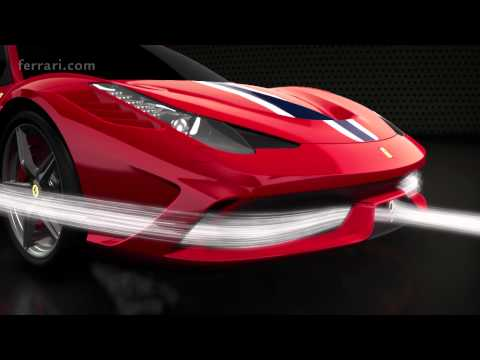 Ferrari 458 Speciale - Focus on aerodynamics