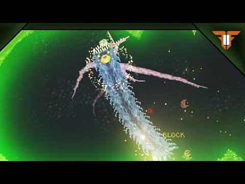 Becoming an apex predator with the Noita Mato-Mode mod