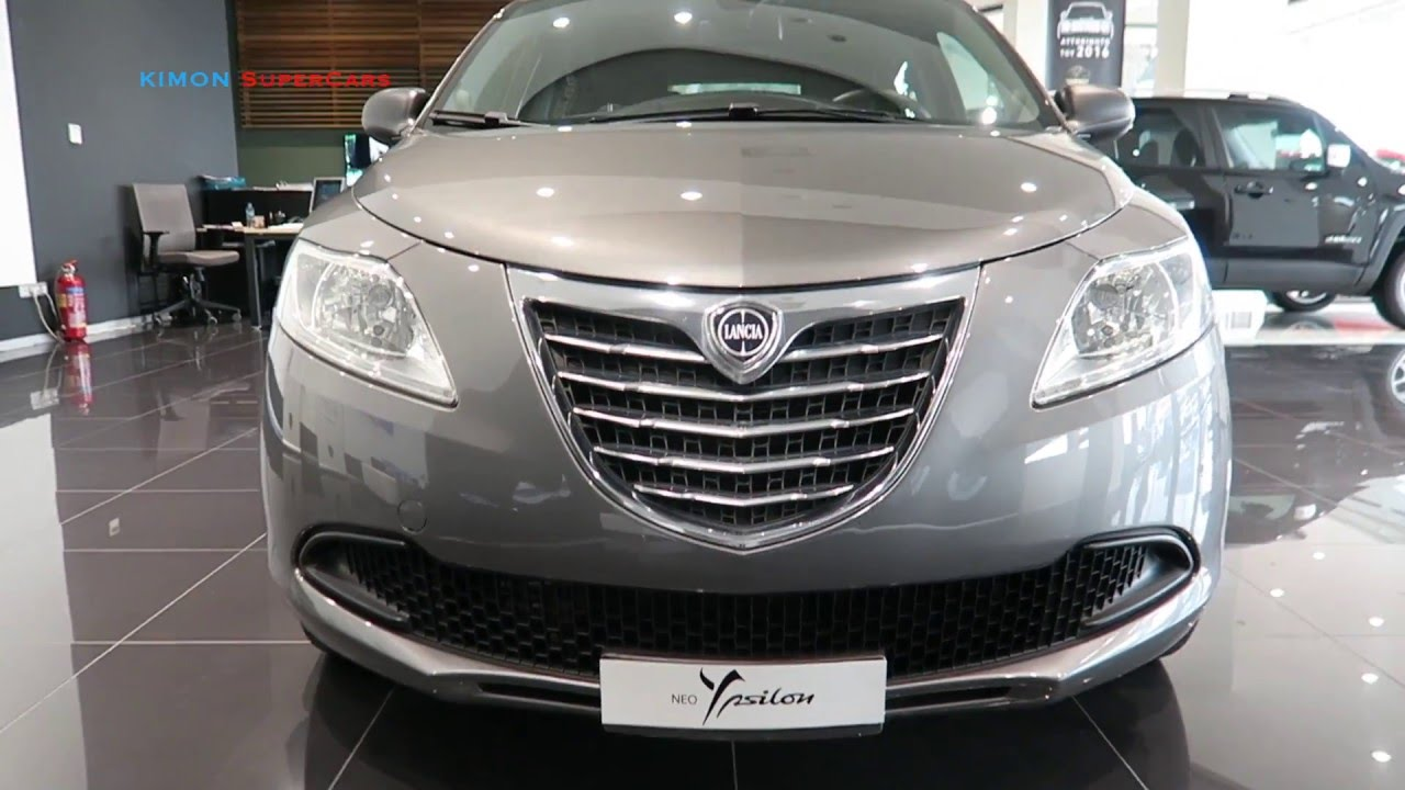 NEW 2016 Lancia Ypsilon - Exterior and Interior - YouTube