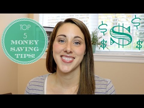 Top 5 EASY Money Saving Tips | 2015