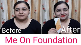 Me On Foundation Very Affordable Foundation Cream Foundation Cream Demo Me On Foundation