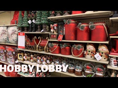 HOBBY LOBBY MINI HOLIDAY EDITION!!! CHRISTMAS DECOR 2019 🎄COME WITH ME!!!!🎄