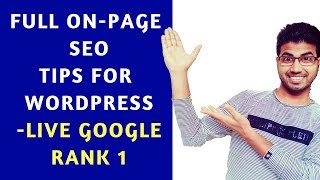 Live SEO - Google Rank 1 with 100% proof | Learn ON-Page in One Video by Okey Ravi