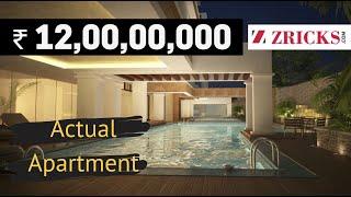 ₹ 12 Cr || 4 BHK (4977 sq ft) Actual Apartment || Century Renata, Richmond Road, Bangalore