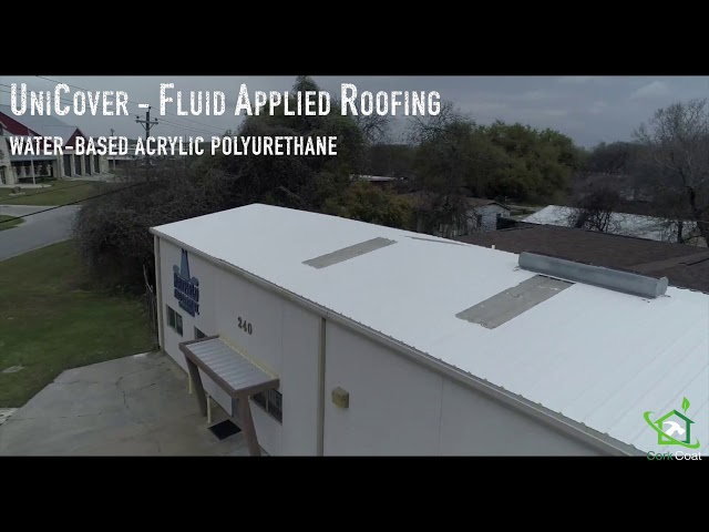UniCover - Fluid Applied Roofing