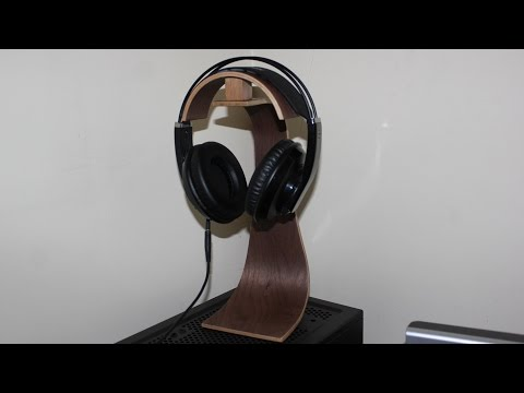 Headphone Stand -  Wood Veneer Shape