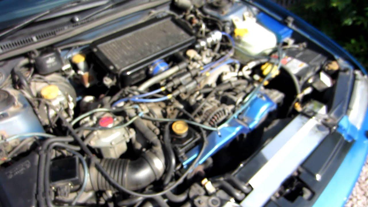1998 - Subaru Impreza Terzo No   Idle  Boost