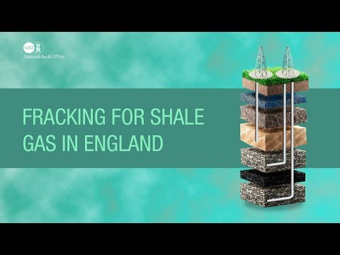 Fracking for shale gas in Englad - NAO report