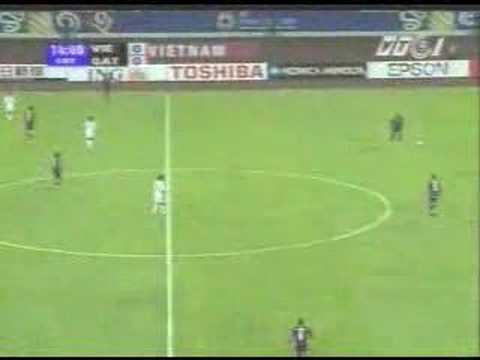 Asian Cup 2007-Vietnam 1-1 Qatar (1st Half)-Part 02