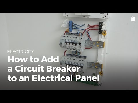 How to Add a Circuit Breaker to an Electrical Panel   Electricity