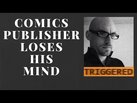 I Trigger A Comics Journalist To The Moon & Back