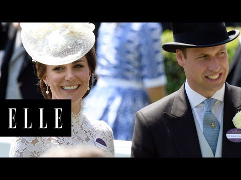 The Royals | Eric Reads the News | ELLE