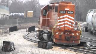 Chicagoland Railfanning, March & April 2013