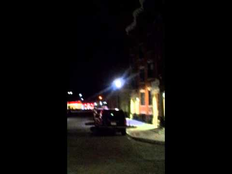 Strange sounds in downtown Springfield,MA