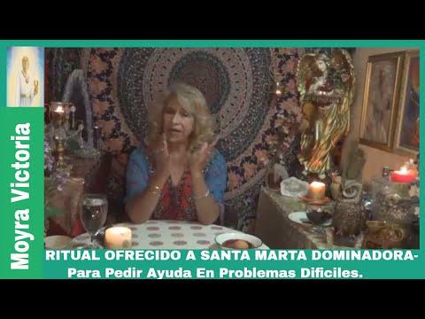 RITRUAL OFRECIDO  A SANTA MARTA DOMINADORA- Para Pedir Ayuda en Problemas Dificiles-