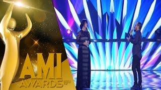 Jamrud ft  Raisa dengan 'Pelangi Di Matamu' [AMI Awards 2016] [28 September 2016]