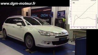 Reprogrammation DGM Citroën C5 3.0L V6 HDI 240ch