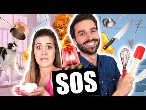 SOS EN CUISINE AVEC DENYZEE  - MOUSSE CHOCOLAT - CARL IS COOKING