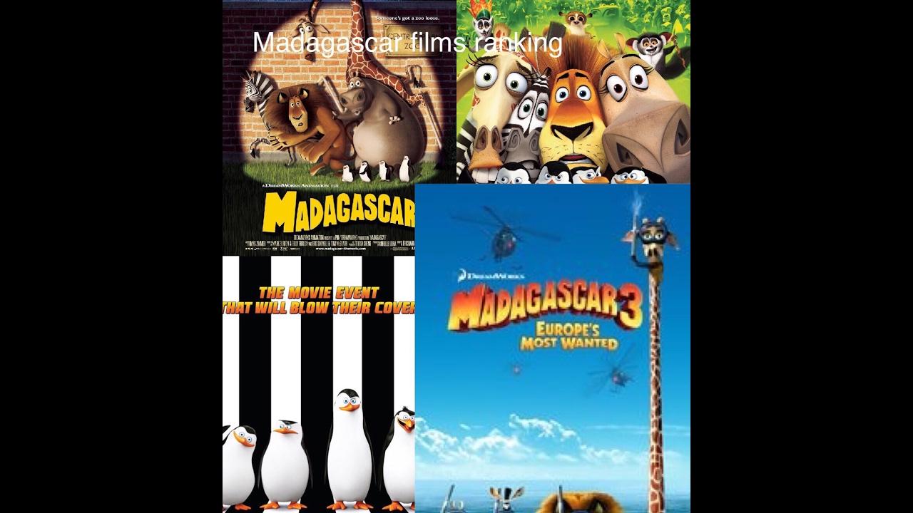 Ranking of the 4 Madagascar movies