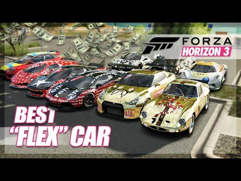 Forza Horizon 3 - Flexing Challenge! (Funny Moments)
