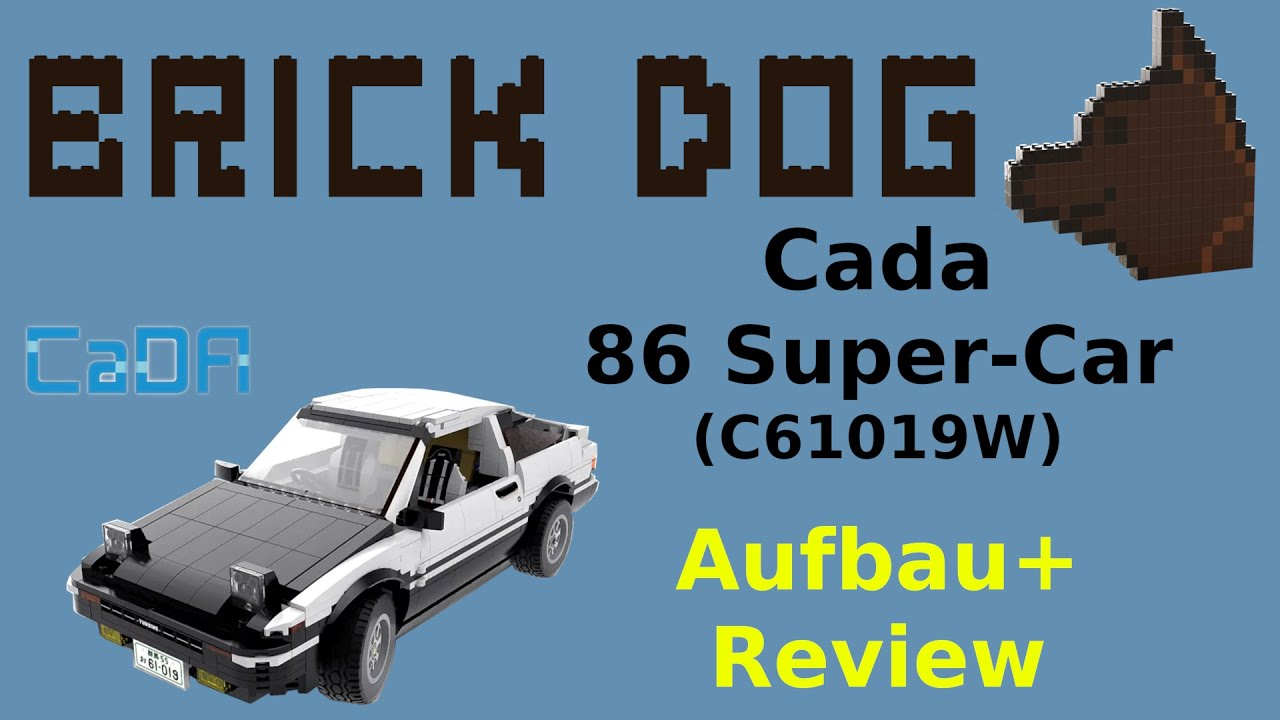 CaDA C61019WJust move it86 Super-CarBausteinset