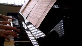 A Little Night Music (Eine Kleine Nachtmusik) duet on piano-Mozart Part I (the better view)