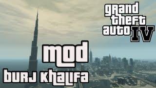 GTA IV - Burj Khalifa Mod (Höchstes Gebäude der Welt) + Facecam