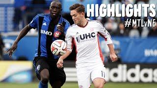 HIGHLIGHTS: Montreal Impact vs. New England Revolution   October 11, 2014